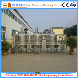 High technology small beer brewery equipment/ home made beer manufacturing machine equipment