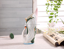 Distinctive ceramic vase for home and garden
