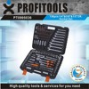 "138pcs 1/4""&3/8""&1/2"" high quality tool kit for motorcycle"