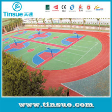 Interlocking futsal court floor