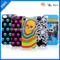 2014 new design skeleton head theme PC mobile phone case for iphone 4 5(OBS-M6094)