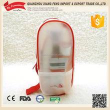 Hot sale PEVA transparent cosmetic case