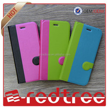 Strong magnetic flip funny two color design case cover for xiaomi and more
