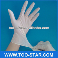 Disposable 100% Rubber Medical Latex Examination Gloves