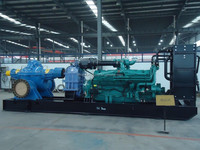 100 hp diesel engine and water pump for irrigation