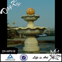 High quality granite solar fountain ndoor dolphin water fountain granite water bowl fountain