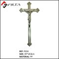 plástico Ataúd Jesús, cruz del ataúd