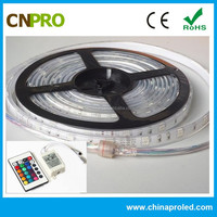 OEM Production DC 12V SMD 5050 RGB Waterproof Outdoor ROHS LED Strip Light