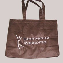 Brown, grocery non woven bag