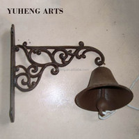 China Manufacture Dependent Decorative Antique Metal Cast Iron Bell