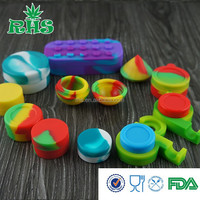 SILICONE CONCENTRATE CONTAINER FOR WAX/CANNABIS OIL
