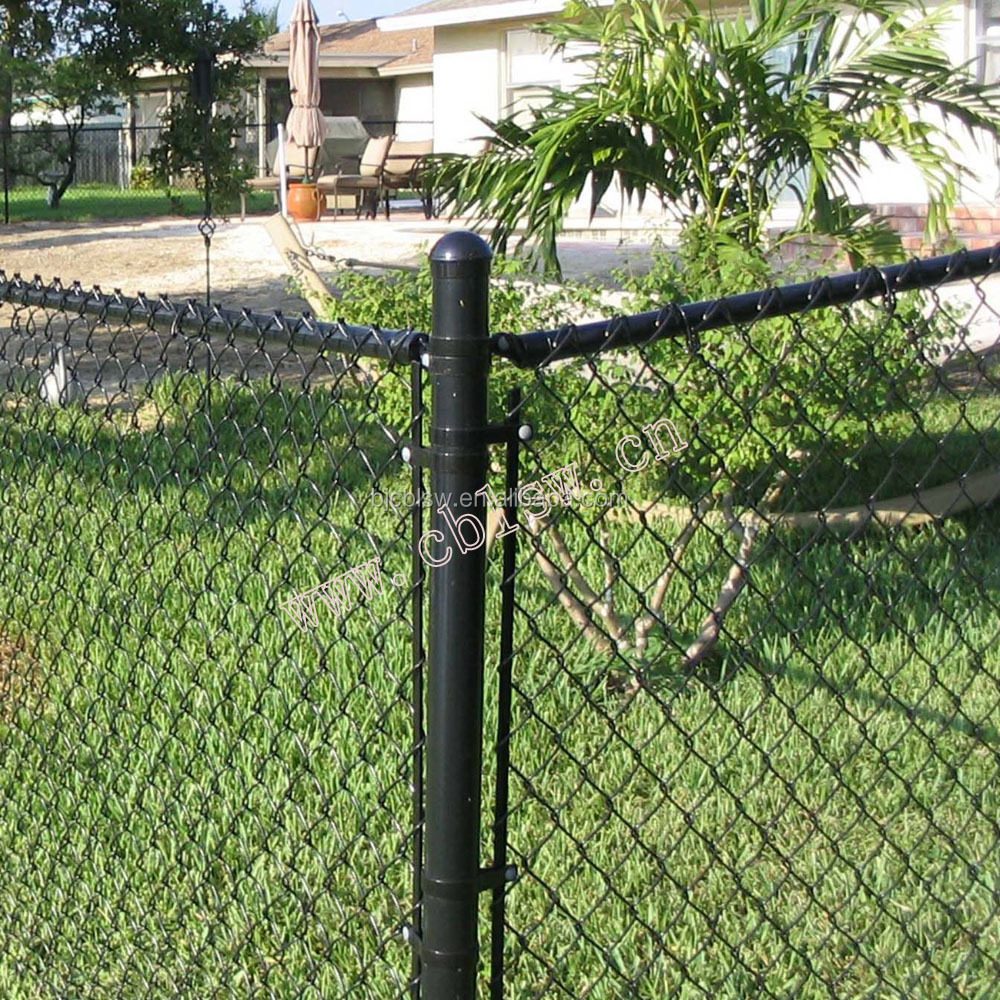 Ft high black chain link fence buy