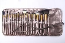 Nake news 18pcs latest makeup brushes set in market best seller 2015