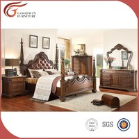 Pillar bed antique bedroom furniture prices WA151