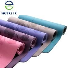 natural rubber yoga mat/used sponge folding gym tumbling exercise yoga mats for sale