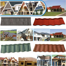 hot sale low price stone coated roof tile price, metal roof tile