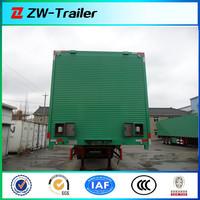 widely used cargo box truck semi trailer box transport semi trailer
