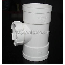 China Factory Cheap Plastic PVC Coupling Extension inspection port