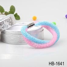 alibaba 2015 ultime tessuto ragazze regalo polvere di stelle braccialetto doppio