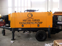 low price concrete pump trailer concrete pump static concrete pump machine