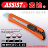 assist new design for American high quality 18mm knife with SK4 blade retractable utility knife
