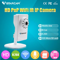 720P Network MegaPixel Wireless Cheapest Pocket wireless ir ip camera with pt