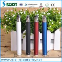 Sbody low price hot sales 1100mah ego battery adjustable voltage ego battery electronic e-cig