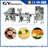 Fast food chicken burger making machine/beef burger production line