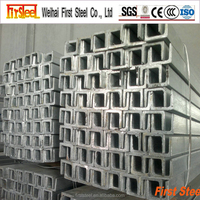 China suppliers z275 steel hot dip galvanized main channel