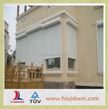2015 NEW DESIGNS house use white automatic roller shutter window