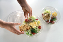 Disposable Plastic Fresh Fruit/salad Packaging Container