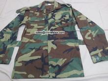 Army woodland winter jackets