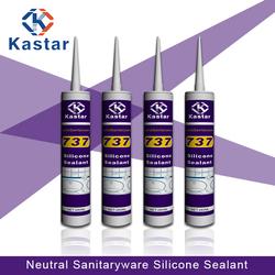 Trade Assurance 300ml easy gunability silicone sealant