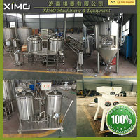 CX-ASMTS All systems made to suit 500L 1000L single malt ,wheat and corn of beer brewing equipment
