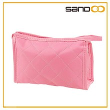 Popular lovely stylish stroage ladies cosmetic bag with mirror
