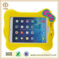 Kids Friendly cat lovely 3D animal case for ipad tablet, cover for ipad mini