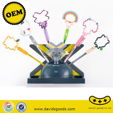 Wholesale Cheap Good Quality Lovely Cartoon Plastic Ball Pen For Kids made in China