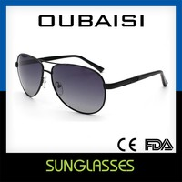 Top Quality Simple Alloy Frame Polarizing Sunglasses No. 857