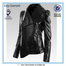 wholesale garment buyer in usa,leather garment for women outwear