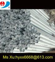 silver anodizing aluminium chair leg 25.4*1.2*440