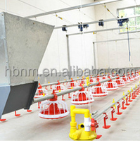 made i in china brioler automatic pan feeding system for poultry farm shed price