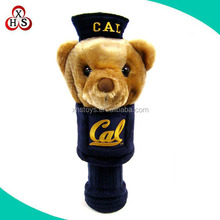 Factory custom Golf head cover plush wholesale