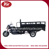 Chinese cheap adult three wheel cargo air-cooled gas powered motor tricycle