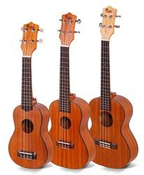 Kaka KUS/C/T-21 china bass electric chard bass electric engraving hard baritone engraving hard case ukulele