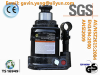 Single Valve 100 Ton Hydraulic Bottle Jack approved by GS, CE, SGS, TS16949, CCC, ISO9001