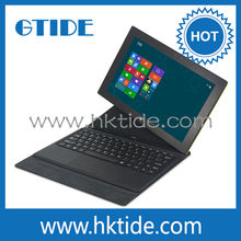 For Windows 8 Tablet Leather Cover Case Detachable Touch Keyboard