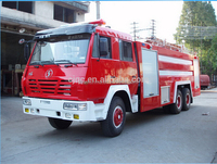 Shacman 6x4 fire fighting truck price size of fire truck