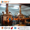 CGET Shandong Zhongde European quality pub beer equipment from A to Z red copper micro beer equipment for pub