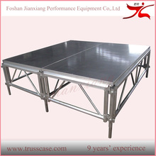 Portable assembly aluminum sell modular stage