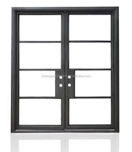 SEN-D110 China Wrought Iron Steel Doors